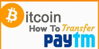 How To Transfer Bitcoins To Paytm Wallet