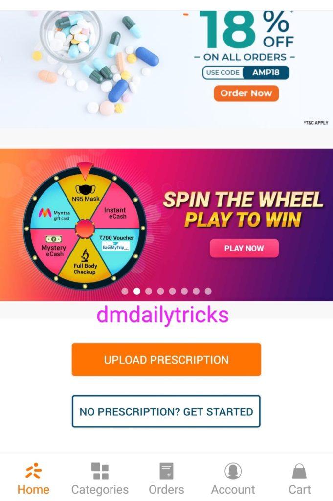 Medlife Spin The Wheel