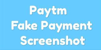 Paytm payment screenshot generator