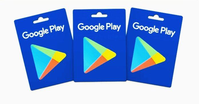 Google play gift card code