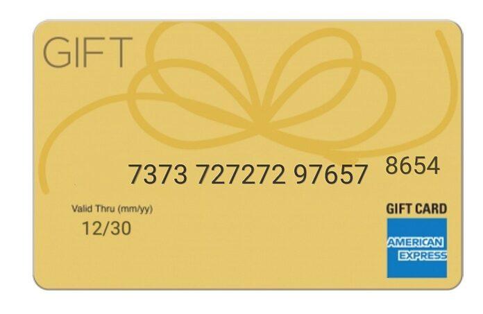 American Express Gift Card Code Generator