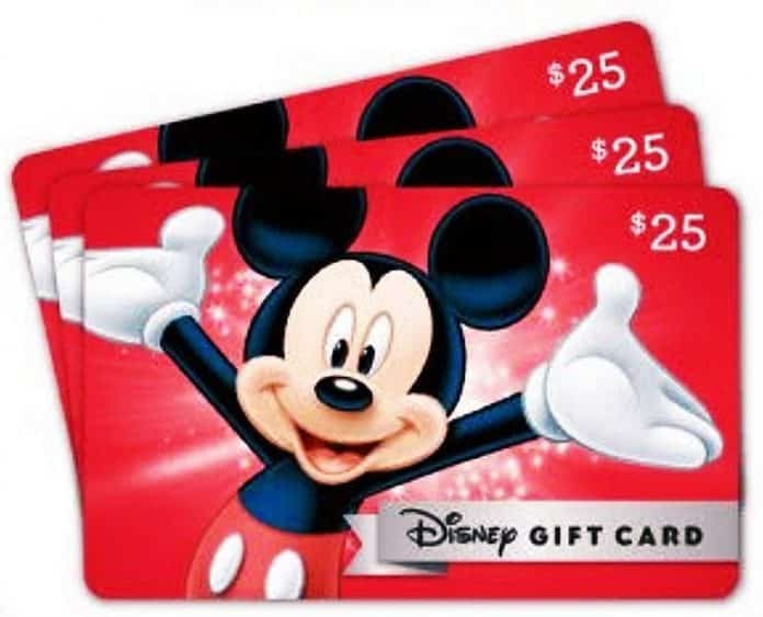 Disney Gift Card Code Generator