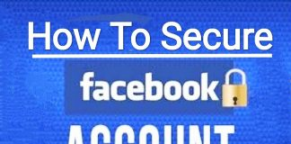 How to secure Facebook account with anomore phishing