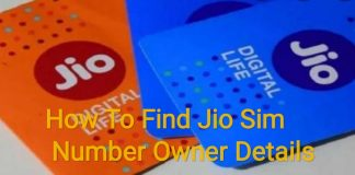 How To Find Jio Sim Number Owner