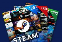 Steam Gift Card Generator