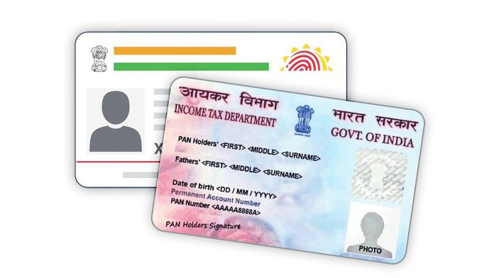 Aadhar Card With Pan Card